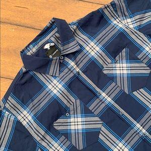 Akademiks Men's Plaid shirt size 3XL